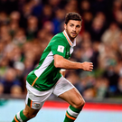 Shane Long. Photo by Brendan Moran/Sportsfile