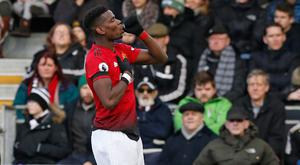 Paul Pogba of Manchester United