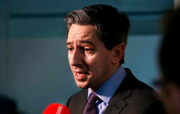 Health Minister Simon Harris. Photo: Steve Humphreys