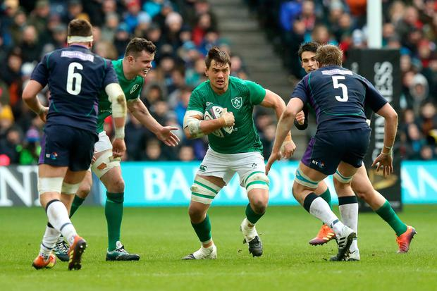 Quinn Roux of Ireland in action. Photo by David Rogers/Getty Images