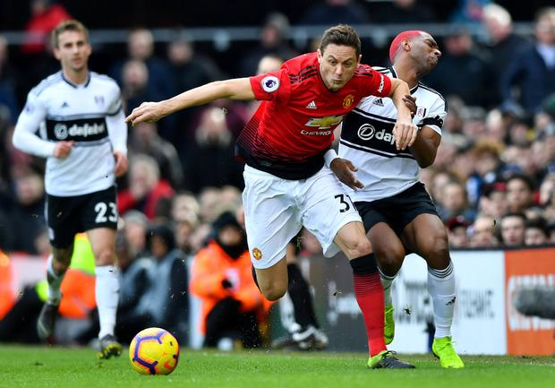 TITLE AMBITION: Matic. Pic: Reuters