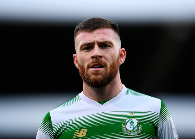 LOTS LEFT TO GIVE: Jack Byrne of Shamrock Rovers. Photo by Harry Murphy/Sportsfile