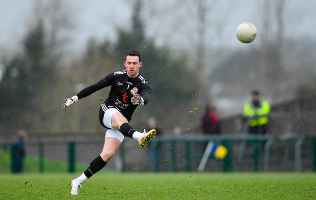 Niall Morgan earned Tyrone a late draw with Roscommon. Photo: Sportsfile