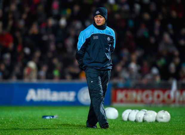 COACH: Jason Sherlock. Photo by Diarmuid Greene/Sportsfile