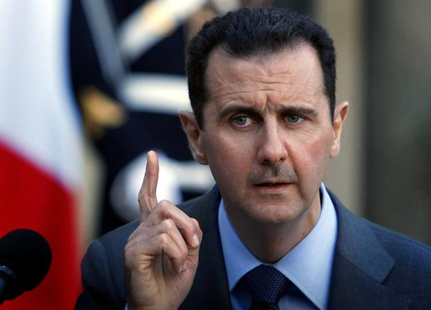 'Ruthless': The president of Syria Bashar al-Assad. AP photo