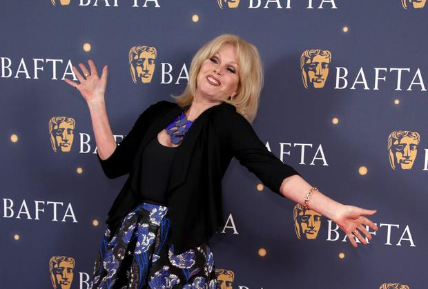 Joanna Lumley attends the BAFTA Film Gala at the The Savoy Hotel, ahead of the EE British Academy Film Awards this Sunday, on February 08, 2019 in London, England. (Photo by Mike Marsland/Mike Marsland/WireImage)