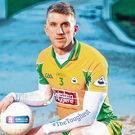 Best of enemies: Corofin full-back Kieran Fitzgerald is expecting to come into battle with Kevin Cassidy of Gaoth Dobhair when the two clubs meet in the All-Ireland club SFC semi-final this weekend. Photo: Sportsfile