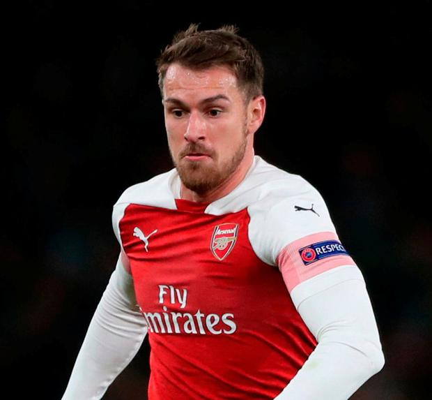 Aaron Ramsey is moving to Juventus. Photo: Nick Potts/PA Wire.