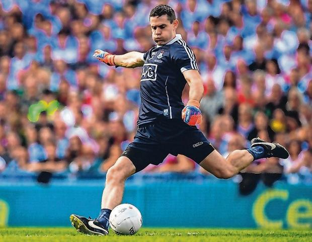 Dublin No 1 Stephen Cluxton has taken kick-outs to a new level. Photo: Ray McManus/Sportsfile