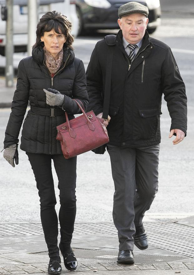 Patrick Quirke and his wife Imelda. Photo: Collins Courts