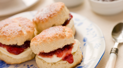Some scones contain 740 calories and are the equivalent of 10 sugar cubes. Deposit photos