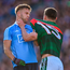 Jonny Cooper of Dublin and Andy Moran of Mayo tussle off the ball during the 2017 All-Ireland final. Photo: Sportsfile