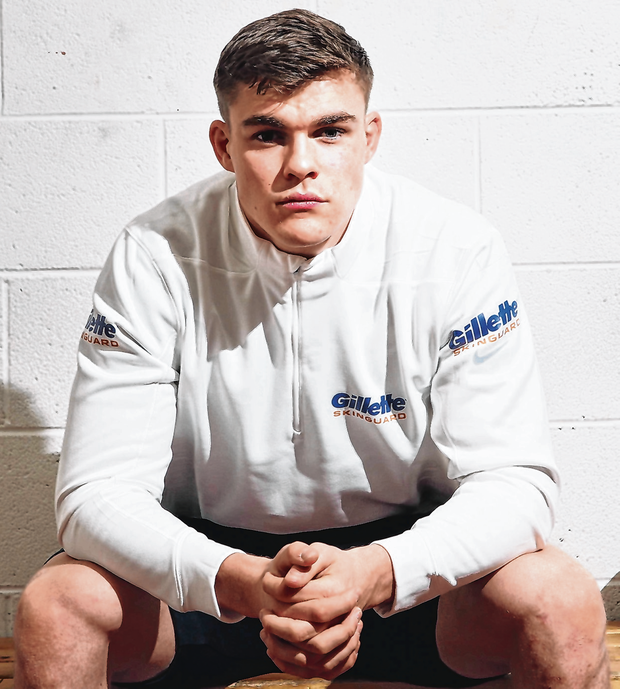Garry Ringrose has had time to reflect after being sidelined