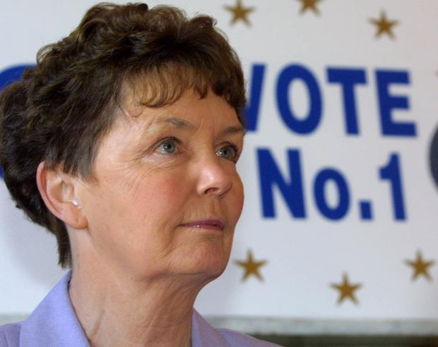 Pro-life campaigner: Nora Bennis formed the Solidarity Movement in 1994, and was a prominent voice of opposition to divorce and abortion. Photo: Press 22