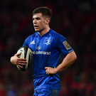 Luke McGrath of Leinster during the Guinness PRO14 Round 12 match between Munster and Leinster at Thomond Park in Limerick. Photo by Ramsey Cardy/Sportsfile