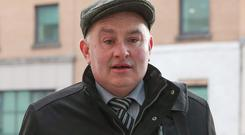 Patrick Quirke has denied the murder of DJ Bobby Ryan. Photo: Collins Courts