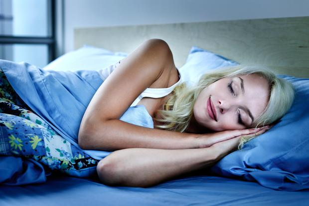 Sleep helps to boost the body's defences. Stock image