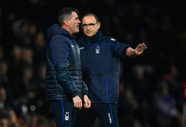 Martin O'Neill has left Nottingham Forest