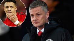 Ole Gunnar Solskjaer backing Alexis Sanchez to emerge from his slump in form