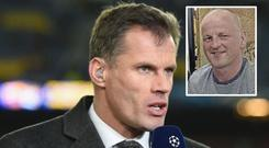 Jamie Carragher donated £11k to the Sean Cox fund
