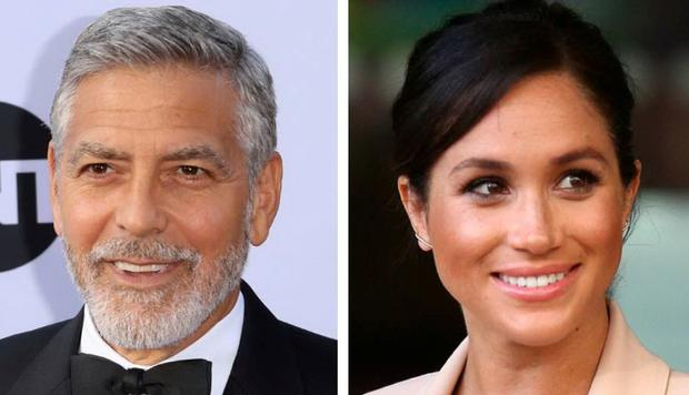 Clooney thinks the media pursue Meghan like Diana
