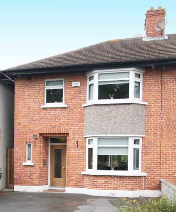 Mortgaged: The house on Mount Prospect Avenue in Clontarf was bought for more than €900,000, according to Ronan Ryan