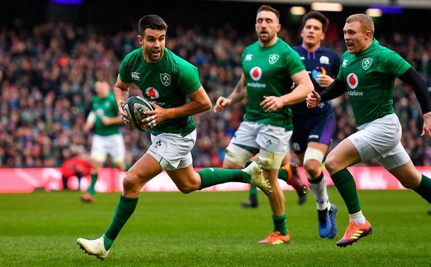 BELOW PAR: Conor Murray. Photo: Brendan Moran/Sportsfile