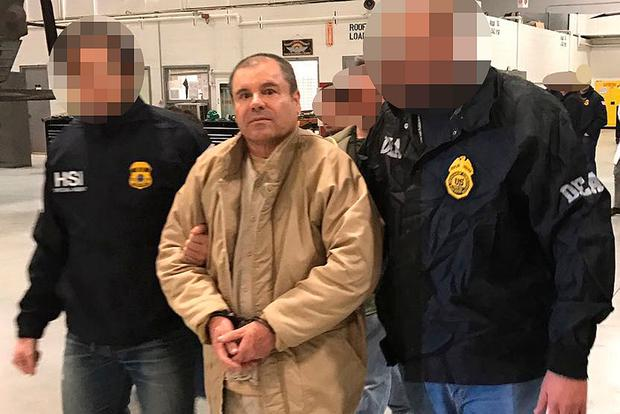 Locked up: Joaquin 'El Chapo' Guzman is likely to be sent to the Colorado 'Supermax' prison. Photo: AFP/Getty Images