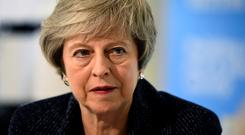 Telephone call: Ford spoke to Prime Minister Theresa May. Picture: Reuters