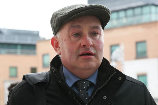 Pat Quirke arrives at court. Picture: Collins