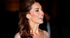 Catherine, Duchess of Cambridge attends the 100 Women in Finance Gala Dinner in aid of 'Mentally Healthy Schools' at the Victoria and Albert Museum on February 13, 2019 in London, England