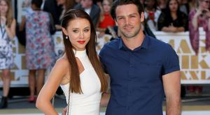 Una Healy and Ben Foden in 2015