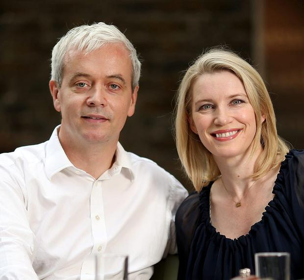 'Played ball': Ronan Ryan and Pamela Flood. Photo: Gerry Mooney
