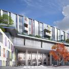 Vision: An artist's impression of the new hospital