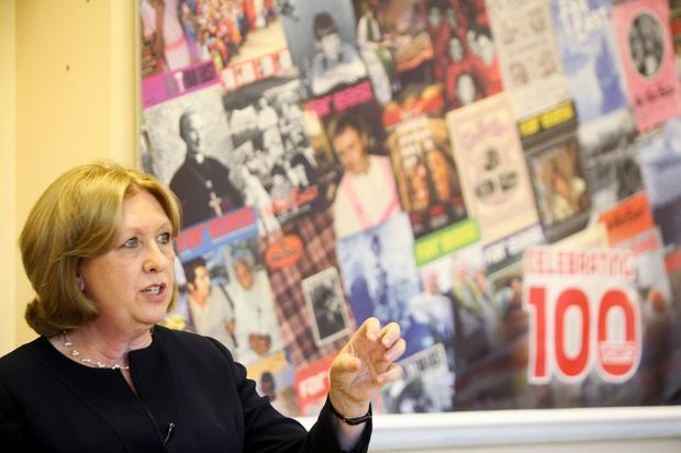 Blocked: Former President Mary McAleese. Photo: John McElroy