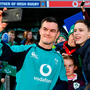 Jonathan Sexton meets supporters following an Ireland rugby open training session at the Aviva Stadium in Dublin. Photo by Seb Daly/Sportsfile
