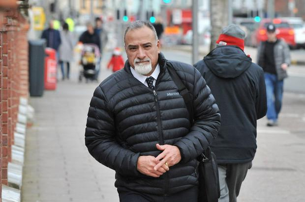 US businessman Albert Santiago pictured at Cork Circuit Court. Photo: Daragh Mc Sweeney/Cork Courts