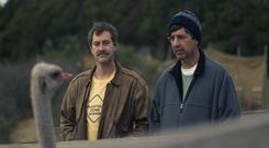 Mark Duplass and Ray Romano star in American comedy Paddleton