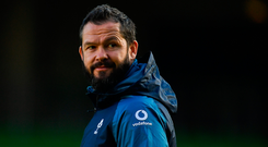 Ireland defence coach Andy Farrell. Photo: Sportsfile