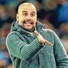Manchester City manager Pep Guardiola. Photo: Clive Brunskill/Getty Images
