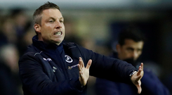 Millwall manager Neil Harris. Photo: Reuters