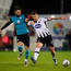Dundalk's Patrick McEleney in action against Kyle Callan-McFadden . Photo: Sportsfile