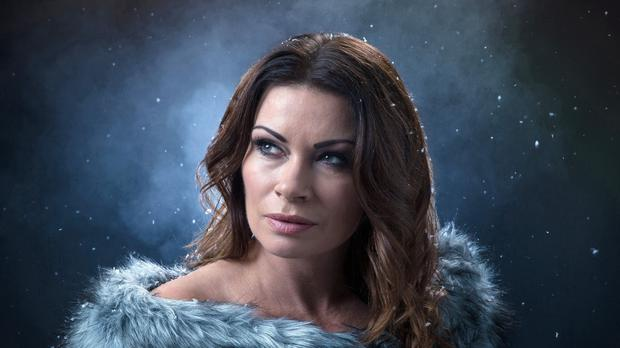 Carla Connor, played by Alison King, is in no hurry to reveal the truth. (Mark Bruce/ITV/PA)