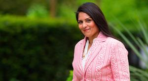 Priti Patel: Former British cabinet minister suggested threatening Ireland with food shortages. Photo: PA