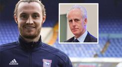 Will Keane and (inset) Mick McCarthy