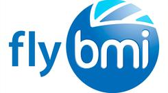 Undated handout image issued by FlyBMI of their logo, the airline which offered services from various UK airports, has suspended all operations and is filing for administration, it has announced. PRESS ASSOCIATION Photo. Issue date: Saturday February 16, 2019. See PA story AIR FlyBMI. Photo credit should read: FlyBMI/PA Wire