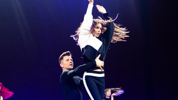 Cheryl and Pasha Kovalev rehearse for his final Strictly performance (The Greatest Dancer/PA)