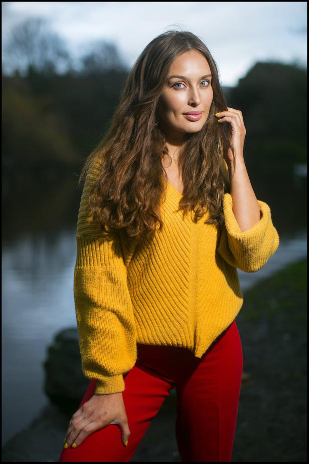 NEW MINDSET: Model Roz Purcell says she went to Cognitive Behavioural Therapy to deal with control issues around food and her attitude towards her weight. Photo: David Conachy