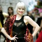 Kimberly Wyatt at the performing arts festival. Photo: David Conachy