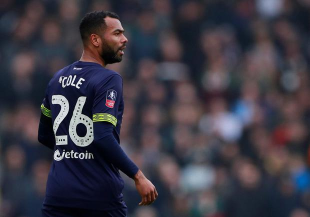 Derby County's Ashley Cole in action Photo: Action Images via Reuters/Andrew Couldridge